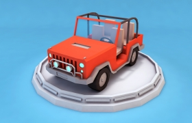 Low poly cars from my 3D Ocean 3D model - You can find this item here: