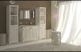 Cantori Bathroom 3D model - 3ds max + vray + marvelous designer + photoshop