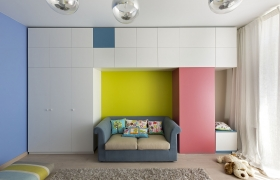 Kids room design 3D model