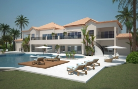 OASIS Spa and Resort 3D model