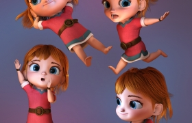 The Adventure Of Kayla 3D model