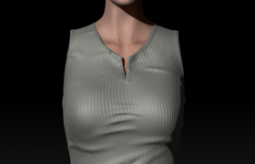 WIP - Character 3D model