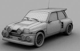 Renault Turbo Race edition 3D model