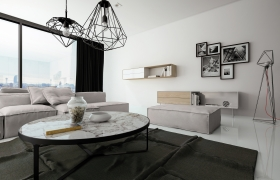 Penthouse Minimal | Interior Design 3D model