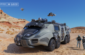 Husarz recon unit 3D model