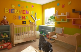 Bienvenue Siena 3D model - A client became father