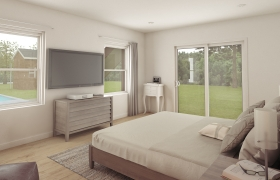 3D Residential Interior (Bedrooms) 3D model