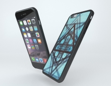 iPhone Case 3D model - Final Render. Used Blender 3D (Cycles Renderer)