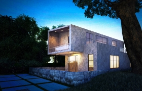 Rendering/architectural visualization 3D model