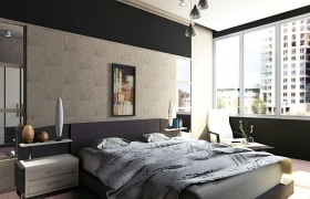 Bedroom Design Royal Apartment Makassar 3D model