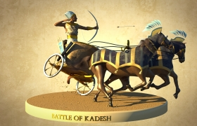 Sculpt - Battle of Kadesh 3D model
