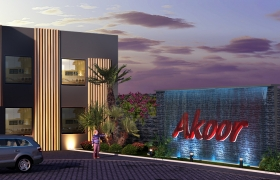 Akoor Digue Commercial Center 3D model