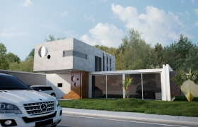 Exterior/Interior Renderings 3D model