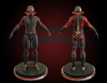 Ant-Man (Scott Lang) 3D model