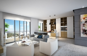 Livingroom Apartment  3D model - Livingroom Apartment