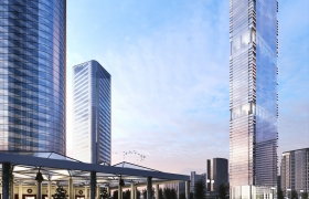 Astana Tower Project 3D model
