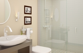 bathroom designing 3D model