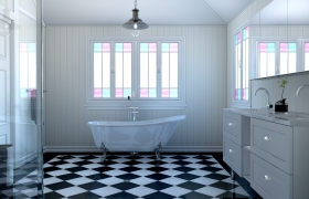 Some Bathroom Visualization 3D model