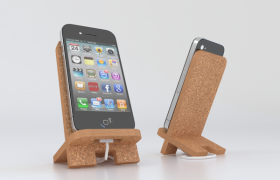 iPhone holder 3D model
