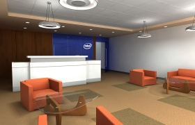 Intel Offices in Córdoba, Argentina 3D model