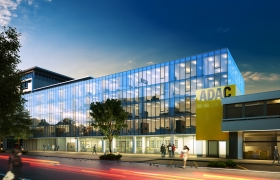 Building ADAC in Germany 3D model
