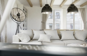 Cracow apartment 3D model - Software: 3DS Max 2014, Vray 2.40, Photoshop CS6