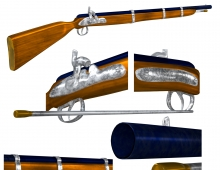 Cap-N-Ball rifle 3D model - My Newest Product: