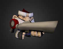 Gnomes - Character Design 3D model