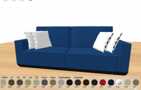 Estobel Couch Catalog 3D model - One of the couch in the app.