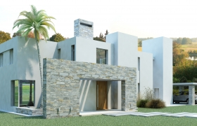 GOLF HOUSE - Rendering 3D model