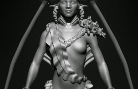 Sirena Sculpt 3D model