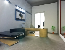 visualization Office 3D model