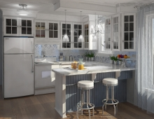 Coastal Kitchen Style 3D model