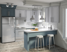 Transitionnel Kitchen Style 3D model