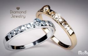 Diamond Jewelry 3D model