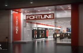 FORTUNE Chain Stores 3D model - Project Facade