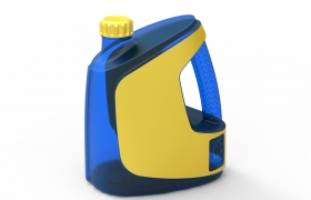 Trassa jerry can 3D model