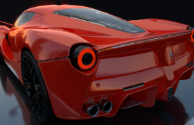 LaFerrari 2015  3D model