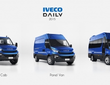 Iveco Daily 2015 3D model