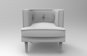 geoffrey chair 3D model