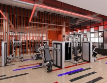 Personal Training Studio  3D model