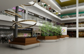 Walkway Mall, Haldwani (INDIA) 3D model
