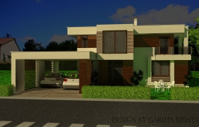 residential design 3D model