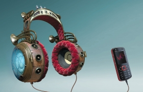 Nokia Headphones 3D model