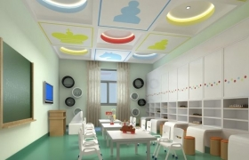 Kids Play room 3D model
