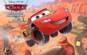 Disney cars iOS 2012 3D model