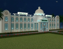 Residentials Designs 3D model - Marriage Palace 3d view