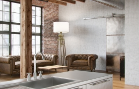 Loft 3D model - Software: 3DS Max 2014, Vray 2.40, Photoshop CS6