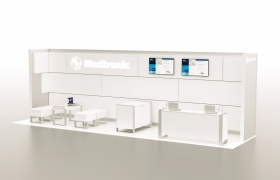 Medtronic Exibition Stand 3D model