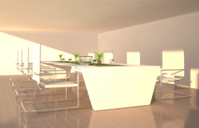 Meeting Room 3D model